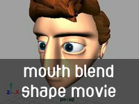 Mouth Blend Shape Animations
